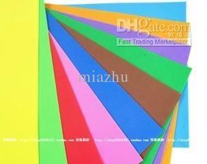 100pcs 10bags Lot 1mm 10 Color Diy Eva Foam Sheets Foam Sheets Foam Sheet Crafts Eva Foam