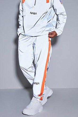 NASA Graphic Reflective Wind Pants Refleksklær  Reflective clothing