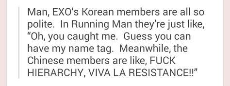 #EXO #EXO-K #EXO-M on Running Man