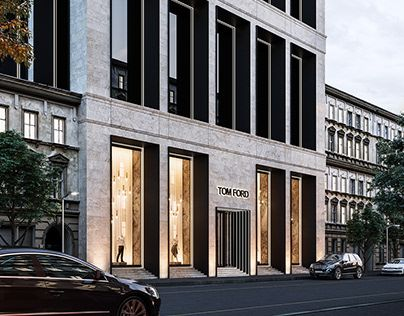 Tom Ford Store Exterior Concept Arhitektura Dom