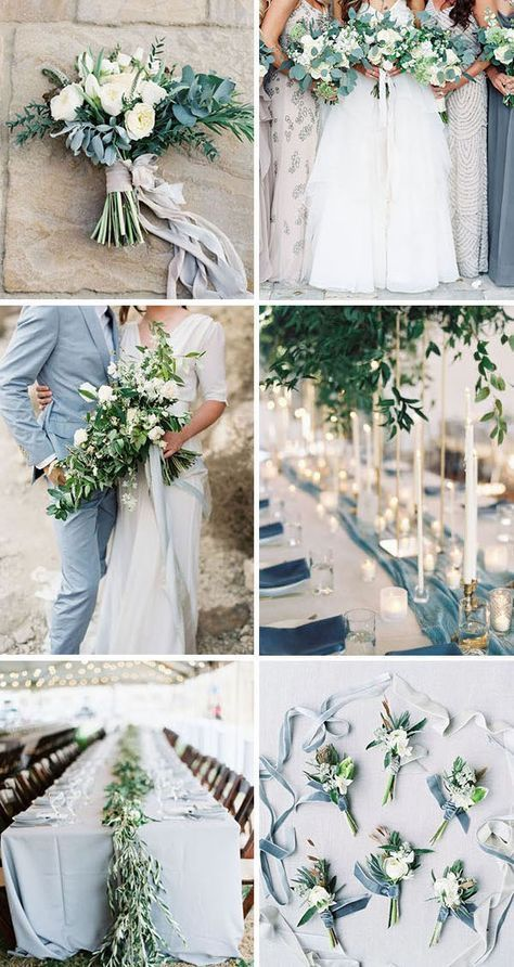 Wedding Trends 10 Gorgeous Wedding Colors with Lush Greenery - mariage 2019
