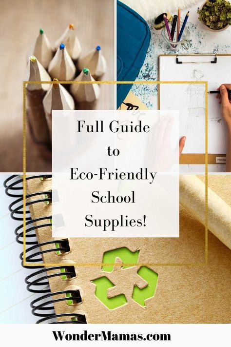30 Eco Friendly & Zero Waste School Supplies • Vegan Family Support