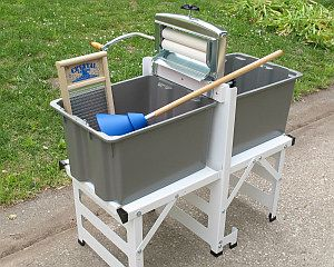 Complete Wringer Washer With Stand Washing Clothes Handwashing Clothes Washing Clothes By Hand
