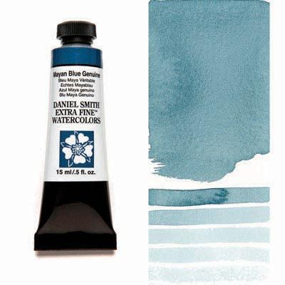 Mayan Blue Genuine 15ml Tube Daniel Smith Extra Fine Watercolor