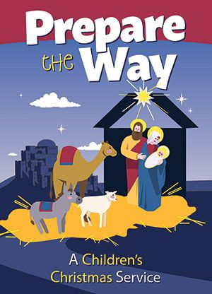 Prepare The Way Children's Christmas Service Product/Goods