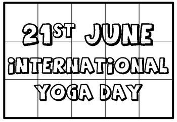 21st June International Yoga Day Quotes Collaborative Art Project Posters Drawing For Kids Easy Paintings Inspirational Quotes