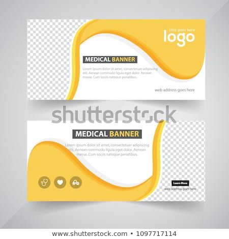 Design For Food And Business Web Banners Of Different Standard Sizes Templates With Round Place For Photos Buttons Vec Web Banner Banner Digital Advertising