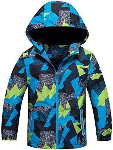 Jacket Girls Boys Casual Windbreaker Jackets Coats Kids Outerwear Sporty Hoodie Clothes Waterproof
