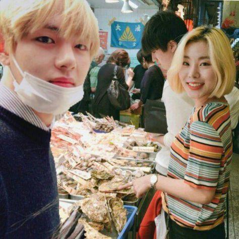 Taehyung x Wheein