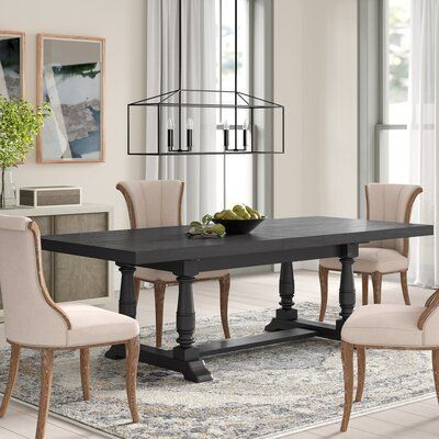 Cassandra Extendable Rectangular Dining Table Color Espresso In