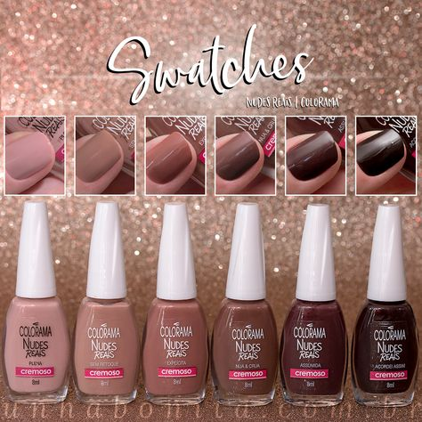 Nudes Reais, Colorama   Swatches