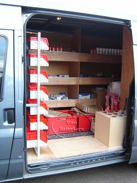 21 Work Van Storage Ideas Van Storage Van Van Racking