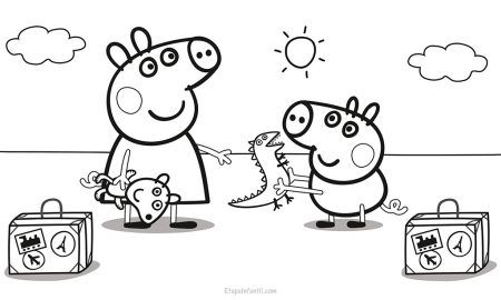 Dibujos Para Colorear De Peppa Pig Dibujo De Peppa Pig