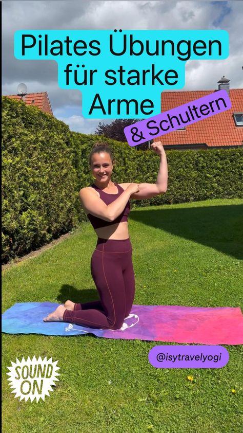 Pilates Übungen  für starke  Arme & Schultern