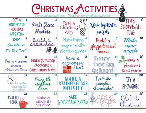 Download this FREE printable Advent Activity Calendar and start making family me... -  Download this FREE printable Advent Activity Calendar and start making family memories today!  #Chr - #Activity #Advent #Calendar #Download #Family #FamilyActivitiesforchristmas #FamilyActivitiesideas #FamilyActivitiesindoor #FamilyActivitiesphotography #FamilyActivitieswithteenagers #free #making #Printable #Start #weekendFamilyActivities