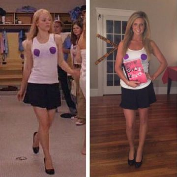 If you still can't decide on a Halloween costume, why not give this Regina George iconic look a go. It's easy and cheap! Don't want to spend a fortune on Halloween costumes this year? Here are 22 cheap and easy Halloween costume ideas to inspire you.