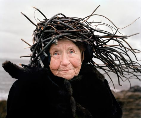 Old people wearing nature by Riittai Konen and Karoline Hjorth
