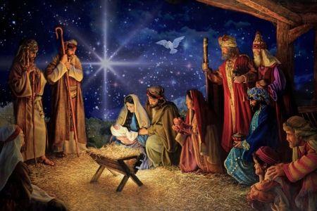 The Birth of Jesus - wisemen, christmas, holiday, Jesus Christ, Dove, our  Savior, manger, people, Jose…   Jesus mary and joseph, Christmas christ,  Jesus art drawing