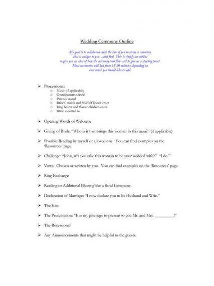 Lutheran Wedding Ceremony Outline Google Search Ceremony Outline Wedding Ceremony Outline Wedding Ceremony Script