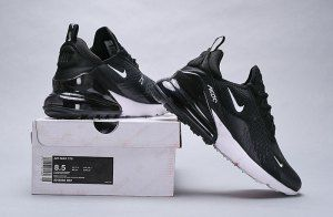 newest c3738 7fc09 Nike Air Max 270 Black Anthracite White Solar Red - AH8050 002 Women s  Men s Casual Shoes