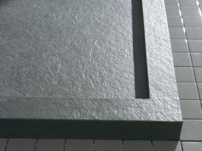 Sgp120100 Bodengleiche Dusche 120x100 Mit Rinne Mineralguss In 2020 Begehbare Dusche Duschwanne Duschrinne