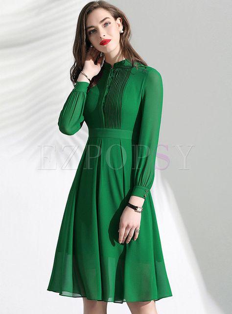 46e73395b959 Dresses | Skater Dresses | Brief Lace O-neck Slim A Line Dress