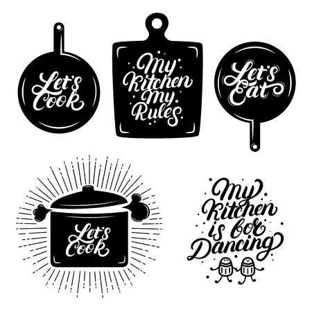 Kitchen Hand Written Lettering Quotes Calligraphy Phrases My Lettering Quotes Kitchen Letters Lettering