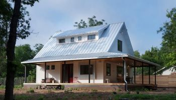 2020 Metal Roofing Prices Per Sq Ft Total Cost Installed Vs Shingles In 2020 House Designs Exterior Simple Farmhouse Plans Modern Farmhouse Porch