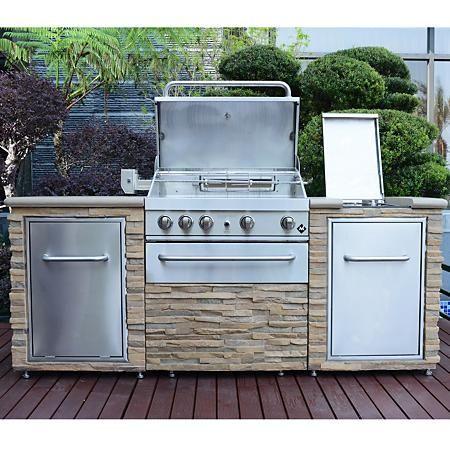 Member S Mark 8 Burner Event Grill Sam S Club Outdoor Kitchen Design Outdoor Kitchen Outdoor Grill Island