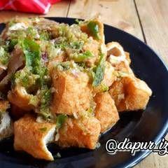 Resep Tahu Gejrot Oleh Susan Mellyani Cookpad Resep Tahu Resep Masakan Makanan Dan Minuman