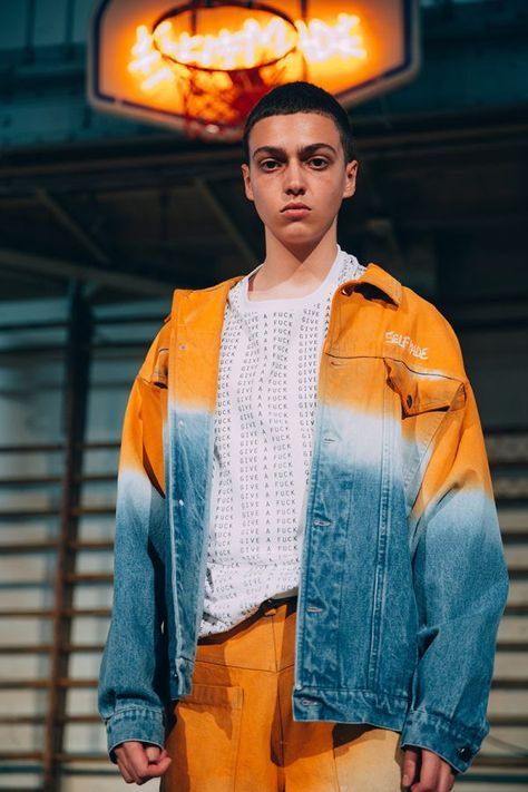 Gianfranco Villegas presented his Spring/Summer 2019 collection for SELF MADE, during Paris Fashion Week.