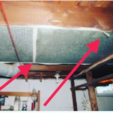 White Tape On Ductwork Is It Asbestos Ithacany Cortlandny Corningny Horseheadsny Asbestos Asbestostes Asbestos Removal Siding Removal Construction Group