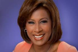 We Love Pat Harveys Coral Dress Flattering Hairstyle And Beautiful Smile At Kcbs In Los Angeles Harvey Beautiful Smile News Anchor
