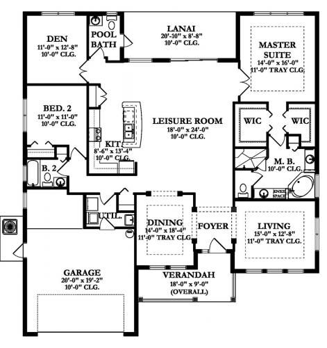 Home Building Construction Floor Plans Building Plans House Floor Plans House Plans