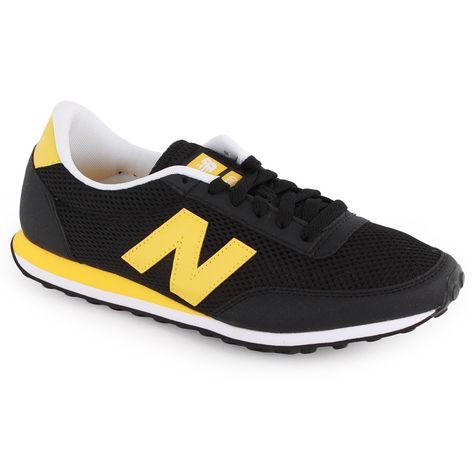 new balance men's trainers yellow