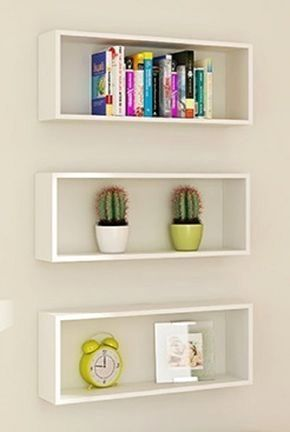 Floating Shelves Square With Images Small Bedroom Decor Shelf