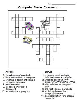 Computer Technology Lessons With Five Worksheets For 3rd Graders Technology Lessons Teaching Computers Computer Lab Lessons