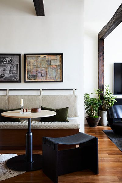 Cozy Cool - This Modern Masculine S.F. Reno Has An Eclectic Edge - Photos