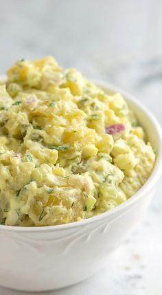 Easy Potato Salad Recipe Step By Step