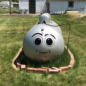 Dress Up Your Boring Propane Tank With Our Funny Face Quality Etsy Propane Tank Art Propane Tank Vinyl Decals