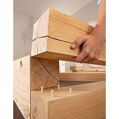 Massiv Blox Holzbalken L X B X H 120 X 15 X 15 Cm Buche Holzbalken Mobel Zum Selbermachen Bauhaus Info