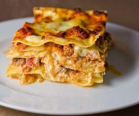 Resep Membuat Lasagna Panggang Rumahan Mudah Resep Lasagna Resep Babi