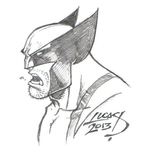 Desenho Do Wolverine Wolverine Desenho Ideias Esboco
