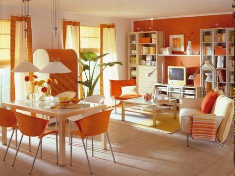 wohnzimmer deko orange exklusive luxus designer wohnzimmer ... - Wohnzimmer Deko Orange