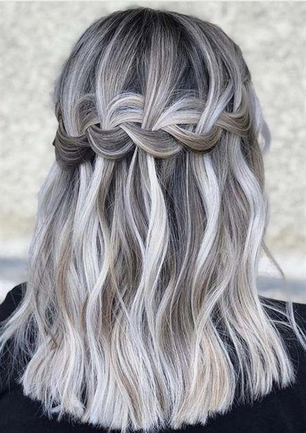80 Wedding Hairstyle For Medium Long Hair With Images Easy Summer Hairstyles Medium Hair Styles Hair Styles
