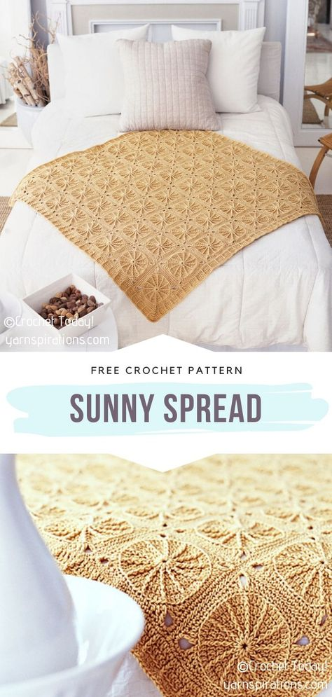 Crochet Quilt Pattern, Crochet Bedspread, Crotchet Patterns, Crochet Cushions, Form Crochet, Crochet Blocks, Learn To Crochet, Crochet Ideas, Crochet Projects