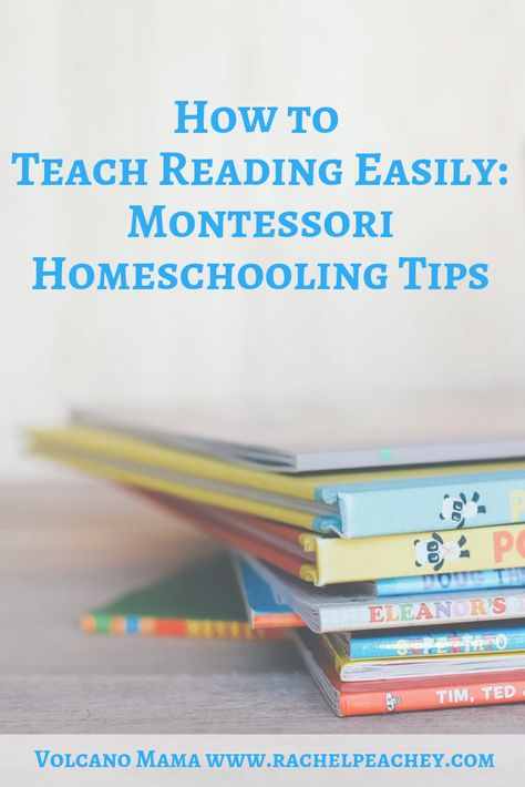 Reading the Montessori Way