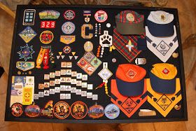 I finally got all The Cisco Kids Cub Scout items under glass.  I found myself putting all his Cub Scout items in a plastic bin and storing t...