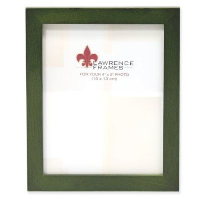 Winston Porter Bulfinch Gallery Wood Picture Frame Colour Green Size 4 X 5 In 2020 Picture On Wood Wood Picture Frames Picture Frame Gallery