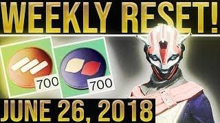 Destiny 2 Weekly Reset  FACTION RALLIES ARE BACK! Nightfall